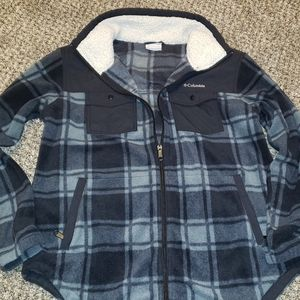 Columbia Fleece Flannel with Pockets